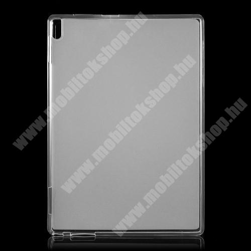Szilikon védő tok / hátlap - FLEXI - FEHÉR - Lenovo Tab 4 10 Plus