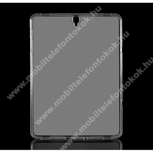 Szilikon védő tok / hátlap - FLEXI - FEHÉR - SAMSUNG SM-T820 Galaxy Tab S3 9.7 (Wi-Fi) / SAMSUNG SM-T825 Galaxy Tab S3 9.7 (3G/LTE)