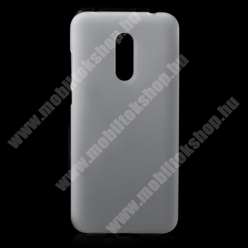 Szilikon védő tok / hátlap - FLEXI - FEHÉR - XIAOMI Redmi Note 5 / XIAOMI Redmi 5 Plus