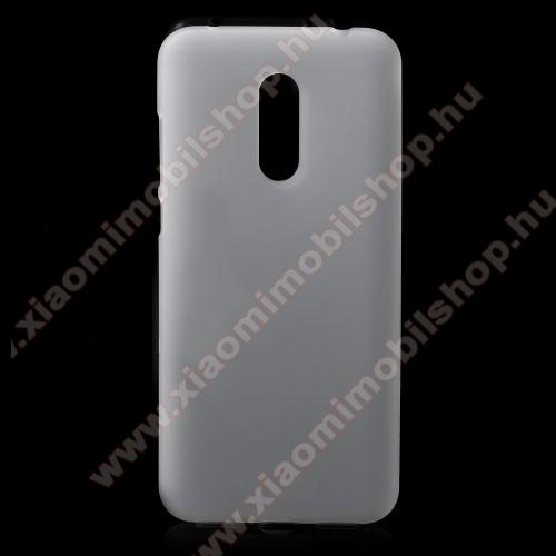 Xiaomi Redmi 5 PlusSzilikon védő tok / hátlap - FLEXI - FEHÉR - XIAOMI Redmi Note 5 / XIAOMI Redmi 5 Plus