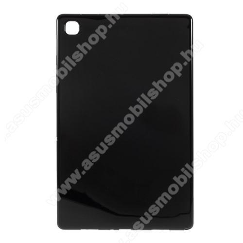 Szilikon védő tok / hátlap - FLEXI - FEKETE - SAMSUNG Galaxy Tab A7 10.4 (2020) (SM-T500/SM-T505)