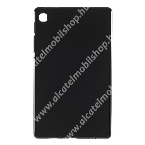 Szilikon védő tok / hátlap - FLEXI - FEKETE - SAMSUNG Galaxy Tab A7 Lite (SM-T220 / SM-T225)