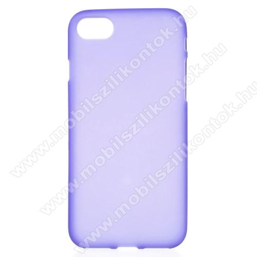 Szilikon védő tok / hátlap - FLEXI - LILA - APPLE iPhone SE (2020) / APPLE iPhone 7 / APPLE iPhone 8
