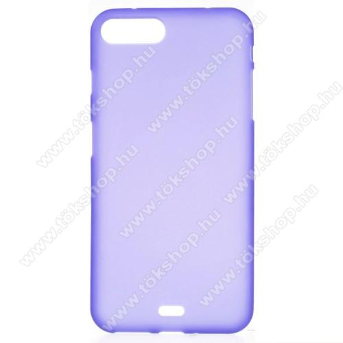 Szilikon védő tok / hátlap - FLEXI - LILA - APPLE iPhone 7 Plus (5.5)
