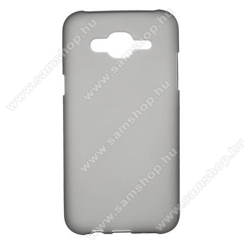 SAMSUNG SM-J500F Galaxy J5 (2015)Szilikon védő tok / hátlap - FLEXI - SZÜRKE - SAMSUNG SM-J500F Galaxy J5 (2015)