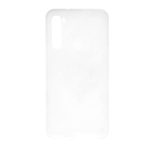 Xiaomi Redmi Note 8 Szilikon védő tok / hátlap - MATT - FEHÉR - Xiaomi Redmi Note 8