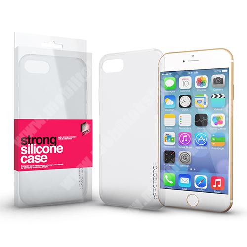 Szilikon védő tok / hátlap - STRONG 2mm - ÁTLÁTSZÓ - APPLE iPhone 6 / APPLE iPhone 6s