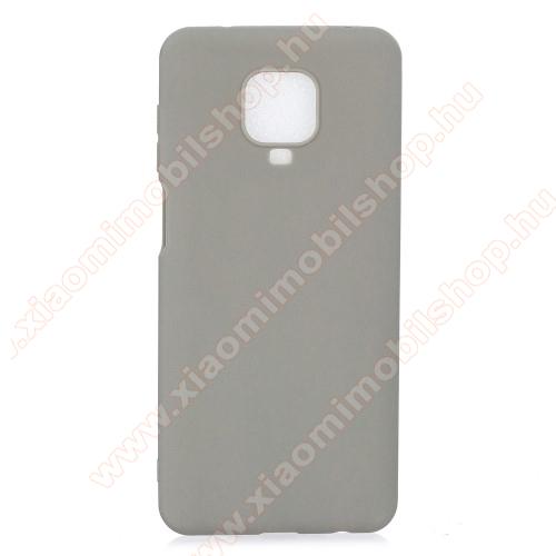 Szilikon védő tok / hátlap - SZÜRKE - Xiaomi Redmi Note 9S / Redmi Note 9 Pro / Redmi Note 9 Pro Max / Poco M2 Pro