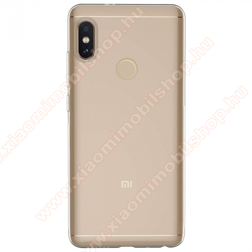 Xiaomi Redmi Note 5 Pro (Global version) Szilikon védő tok / hátlap - Ultravékony, 0,6mm - ÁTLÁTSZÓ - Xiaomi Redmi Note 5 Pro (Global version)