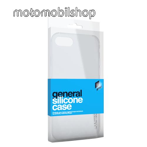 Szilikon védő tok / hátlap - ULTRAVÉKONY! 0.33mm - ÁTLÁTSZÓ - Xiaomi Mi 8 Lite