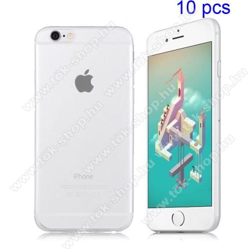 Szilikon védő tok / hátlap - ULTRAVÉKONY! 0,8mm - ÁTLÁTSZÓ - APPLE iPhone 6 / APPLE iPhone 6s
