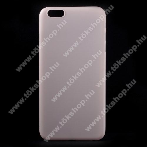 Szilikon védő tok / hátlap - ultravékony, 0,18mm! - RÓZSASZÍN - APPLE iPhone 6s Plus