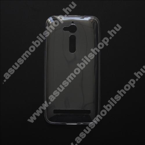 Szilikon védő tok / hátlap - ULTRAVÉKONY! 0,6mm - ÁTLÁTSZÓ - ASUS ZenFone Go (ZB500KL / ZB500KG)