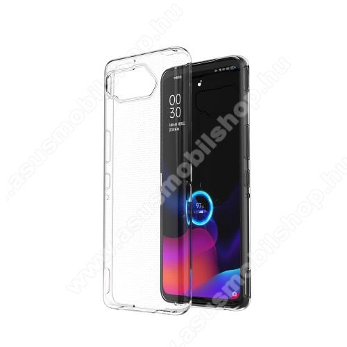Szilikon védő tok / hátlap - ULTRAVÉKONY! - ÁTLÁTSZÓ - ASUS ROG Phone 5 / ROG Phone 5 Pro / ROG Phone 5 Ultimate