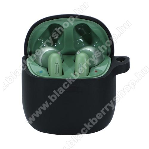 Szilikon védő tok JBL Tune 220 TWS-hez - töltőnyílás - FEKETE