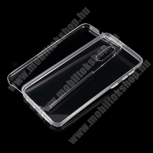 Szilikon védő tok / műanyag hátlap - szilikon előlap és műanyag hátlap védő, 360 fokos védelem! - ÁTLÁTSZÓ - SAMSUNG SM-A305F Galaxy A30 / SAMSUNG SM-A205F Galaxy A20 / SAMSUNG SM-M107F Galaxy M10s