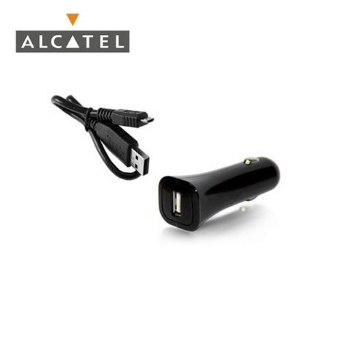Szivargyújtó töltő/autós töltő - USB aljzattal, 5V / 1A, DC53 adat / töltő kábellel - FEKETE - GYÁRI