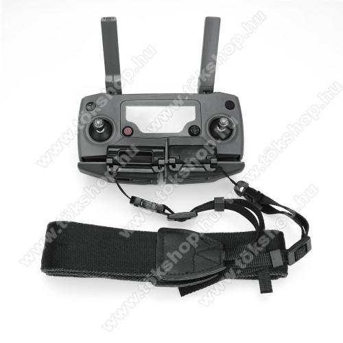 Távirányító nyakpánt / telefon tartó DJI Mavic Mini / Air / 2 / Mavic 2 Pro / Mavic 2 Zoom Camera - csatos, 131cm hosszú - FEKETE
