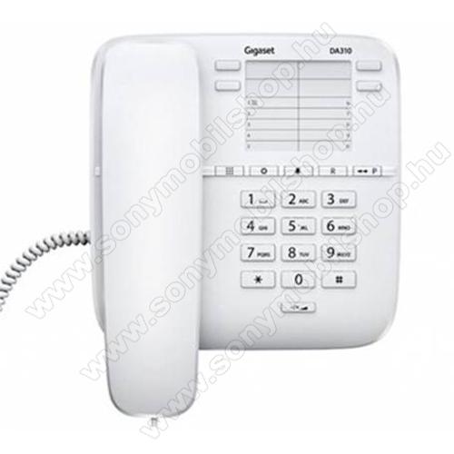 TELEFON készülék, vezetékes SIEMENS Gigaset DA310 FEHÉR