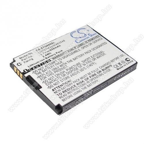 Telenor S320 akkumulátor 650mAh Li-ION - (LI3707T42P3H463548 utángyártott)