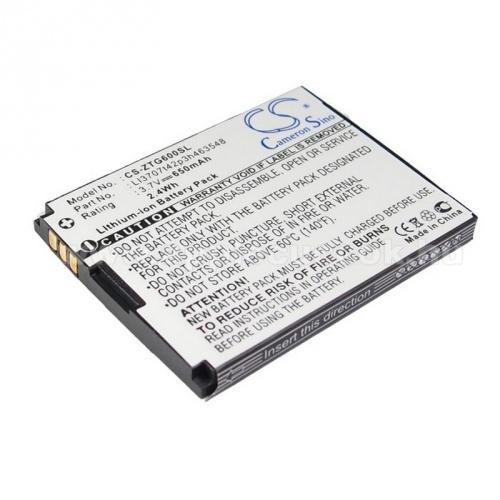 Telenor S320 akkumul�tor 650mAh Li-ION - (LI3707T42P3H463548 ut�ngy�rtott)