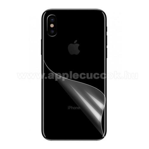 [103070] Hátlapvédõ fólia - Ultra Clear - Apple iPhone X