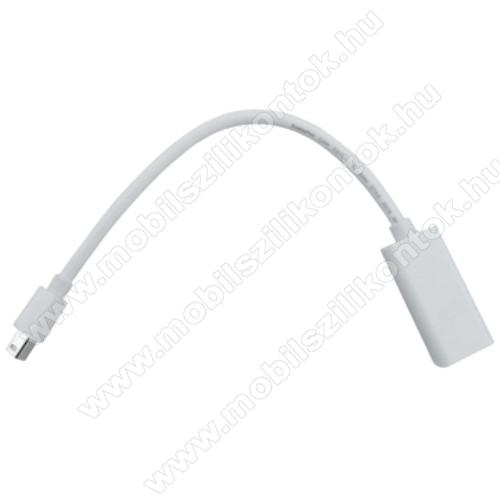 Thunderbolt Port-ról HDMI ANYA port-ra alakít át - támogatja a 1080P felbontást, 21cm hosszú - FEHÉR