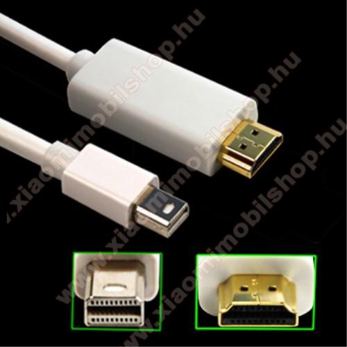 Thunderbolt Port-ról HDMI APA port-ra alakít át - támogatja a 1080P felbontást, 3m hosszú - FEHÉR