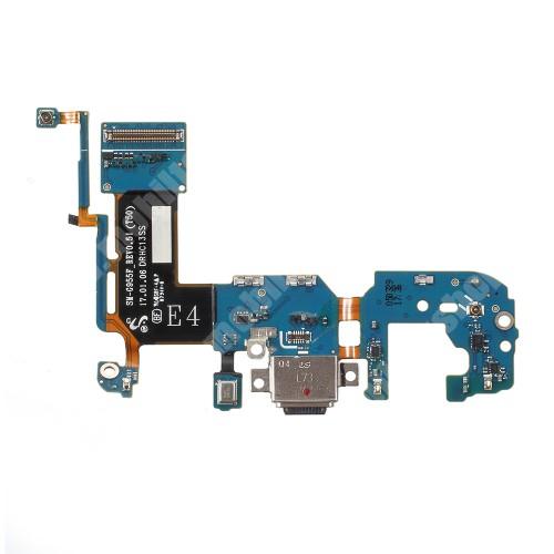 Töltőcsatlakozó panellel - SAMSUNG SM-G955 Galaxy S8 Plus - GYÁRI