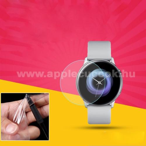 TPU k�perny?v�d? f�lia - CLEAR - 1db, t�rl?kend?vel - A TELJES EL?LAPOT V�DI! - SAMSUNG SM-R500 Galaxy Watch Active