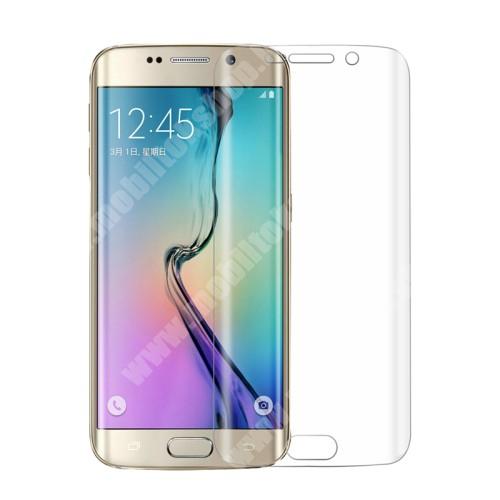 TPU képernyővédő fólia - TELJES KIJELZŐRE! - 0,1mm, Explosion-proof - SAMSUNG SM-G925F Galaxy S6 Edge