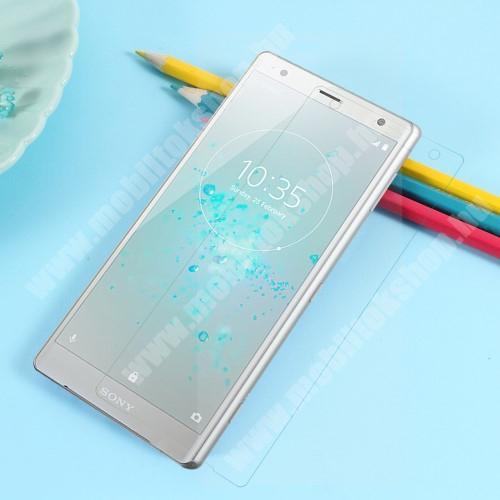 Sony Xperia XZ2 (2018) TPU képernyővédő fólia - Ultra Clear - 1db, törlőkendővel, A TELJES KIJELZŐT VÉDI! - SONY Xperia XZ2 (2018)