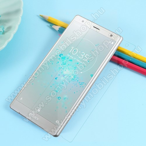 TPU képernyővédő fólia - Ultra Clear - 1db, törlőkendővel, A TELJES KIJELZŐT VÉDI! - SONY Xperia XZ2 (2018)