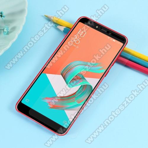TPU képernyővédő fólia - Ultra Clear - 1db, törlőkendővel, A TELJES KIJELZŐT VÉDI! - ASUS Zenfone 5 Lite (ZC600KL) (2018)