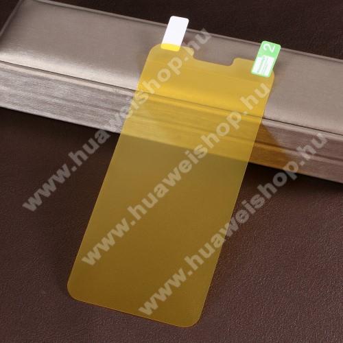 TPU képernyővédő fólia - Ultra Clear - 1db, törlőkendővel, A TELJES KIJELZŐT VÉDI! - LG G8 ThinQ Dual kamerás / LG G8 ThinQ Tripla kamerás