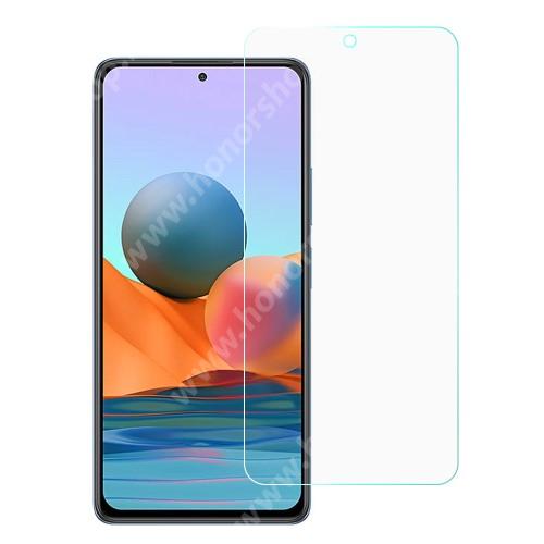 TPU képernyővédő fólia - Ultra Clear - 1db, törlőkendővel, A TELJES KIJELZŐT VÉDI! - Xiaomi Redmi Note 10 Pro / Redmi Note 10 Pro Max