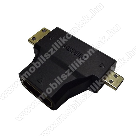 TV/HDMI adapter (mikro HDMI és mini HDMI-HDMI)