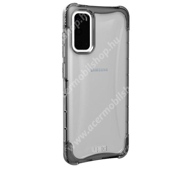 UAG PLYO műanyag védő tok / hátlap - szilikon betétes, csúszásgátló, légpárnás sarok, ERŐS VÉDELEM! - ÁTLÁTSZÓ - SAMSUNG Galaxy S20 (SM-G980F) / SAMSUNG Galaxy S20 5G (SM-G981) - GYÁRI