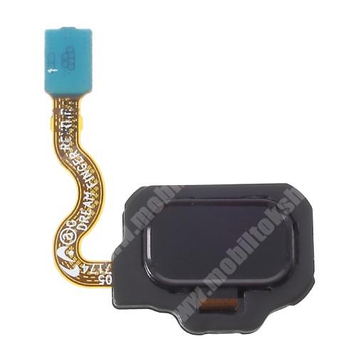 Ujjlenyomat olvasó modul átvezető szalagkábellel - FEKETE - SAMSUNG SM-G950 Galaxy S8 / SAMSUNG SM-G955 Galaxy S8 Plus - GYÁRI
