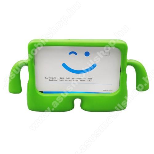 ASUS Memo Pad 7 ME572CUNIVERZÁLIS 3D tablet PC habszivacs védő keret - asztali tartó funkciós, fogantyú, ERŐS VÉDELEM! 7
