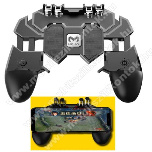 SAMSUNG Galaxy A20s (SM-A207F)UNIVERZÁLIS AK66 Kontroller / Joystick - ravasz FPS játékokhoz, PUBG-hez ajánlott, 6.5