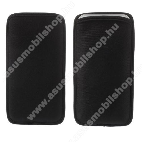 Asus Zenfone 5z (ZS620KL) (2018)UNIVERZÁLIS álló tok - FEKETE - 160 x 85 mm