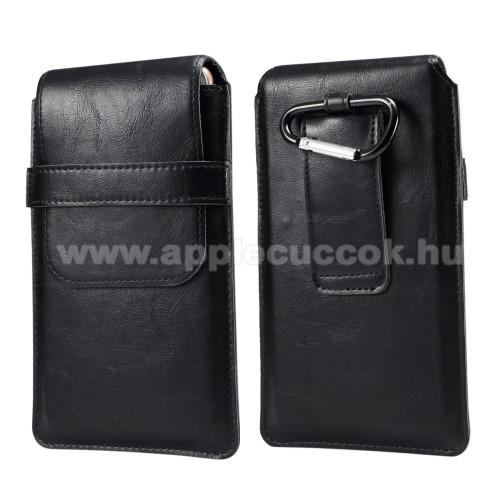 APPLE iPhone 6s PlusUNIVERZÁLIS álló tok - övre fűzhető / karabiner - 4,8-6,3