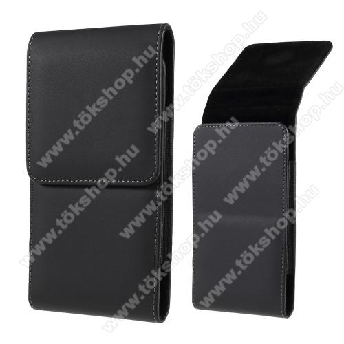 Elephone S3 LiteUNIVERZÁLIS álló tok - övre fűzhető, mágnes záródás, gumis - max 6.7