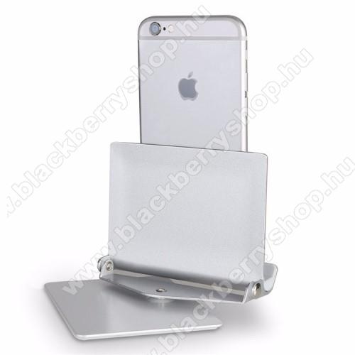 UNIVERZÁLIS alumínium asztali tartó / állvány - 360°-ban elforgatható, 10 különböző látószög, 4-10