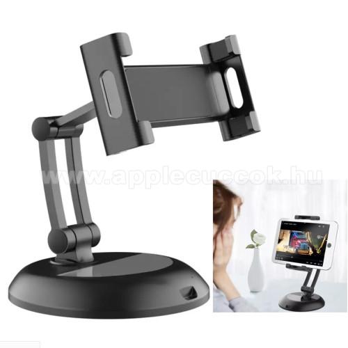 APPLE iPadUNIVERZÁLIS alumínium asztali tartó / állvány - 360°-ban forgatható, csúszásgátló, 5-13