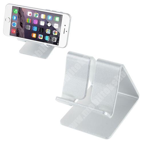 LG X Skin UNIVERZÁLIS alumínium asztali tartó / állvány - EZÜST