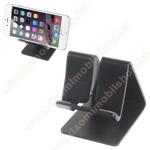 Xiaomi Redmi Y1 LiteUNIVERZÁLIS alumínium asztali tartó / állvány - FEKETE