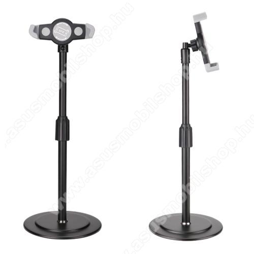 ASUS M530WUNIVERZÁLIS asztali telefon / Tablet PC tartó / állvány - 360°-ban forgatható, alumínium, állítható magasság, csúszásgátló, 200-320mm-ig nyíló bölcső, 4-12
