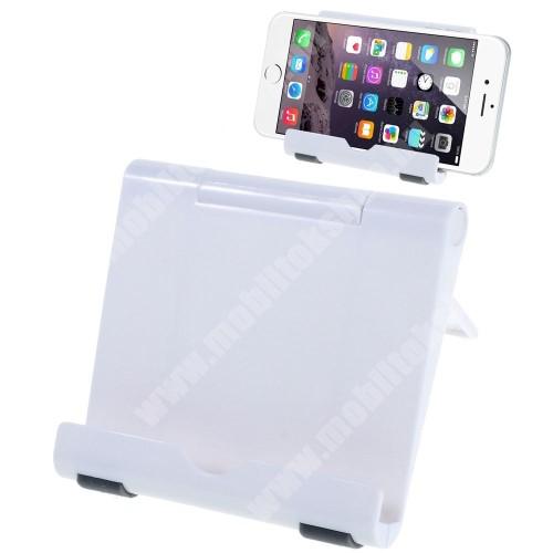 SAMSUNG GT-C5510 UNIVERZÁLIS asztali telefon tartó, állvány - FEHÉR